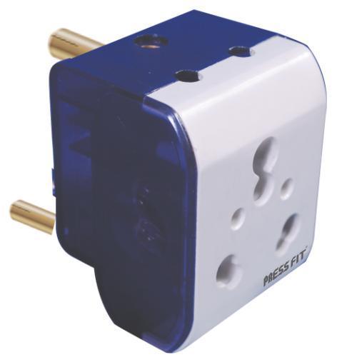 Pressfit Diya 16 Amp. 3 Pin Multi Plug