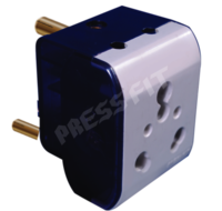 Press Fit 16 Amp. Diya 3 Pin Multiplug