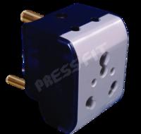 Press Fit 16 Amp. Diya 3 Pin Multiplug
