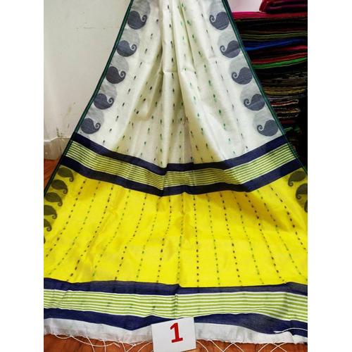 Ladies Handloom Booti Saree
