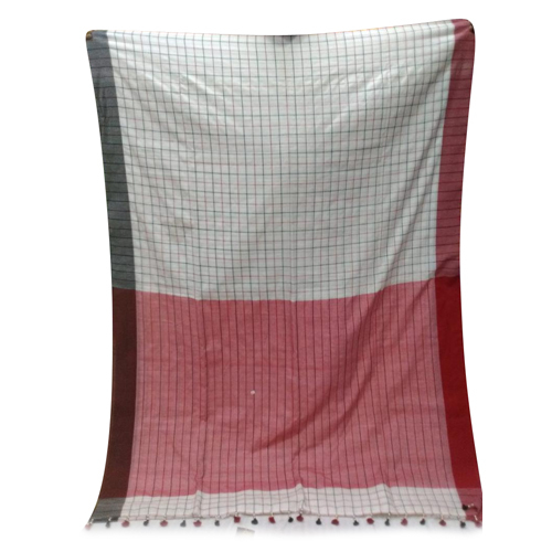 Ladies Khadi Cotton Saree
