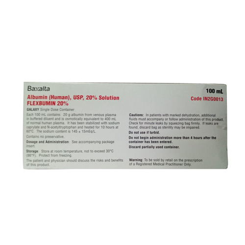 100 ml Albumin Solution