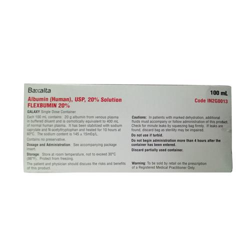 100 ml Albumin Solution