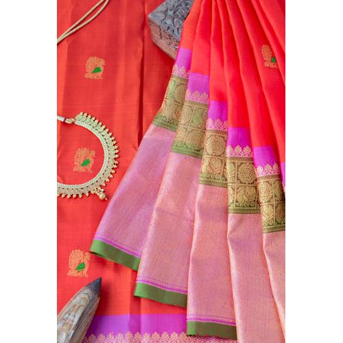 Ladies Gadwal Silk Saree