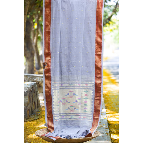 Ladies Cotton Paithani Saree