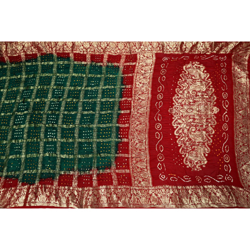 Ladies Bandhani Saree