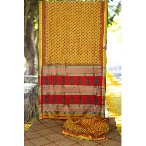 Ladies Maheshwari Printed Saree