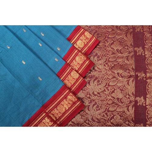 Ladies Kuppadam Cotton Saree