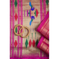 Ladies Paithani Silk Saree