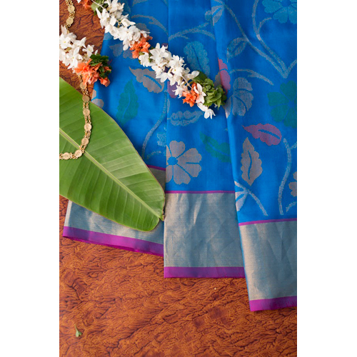 Ladies Silk Jamdani Saree