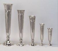 Trumpet vases Aluminium