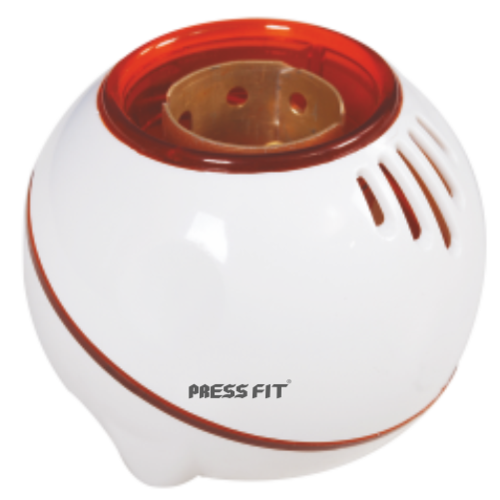 Press Fit Diya 2-in-1 Angle + Batten Lamp Holder