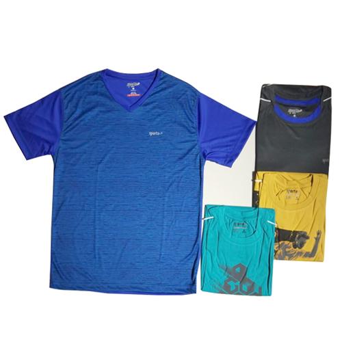 Mens Blue Sports T-Shirt