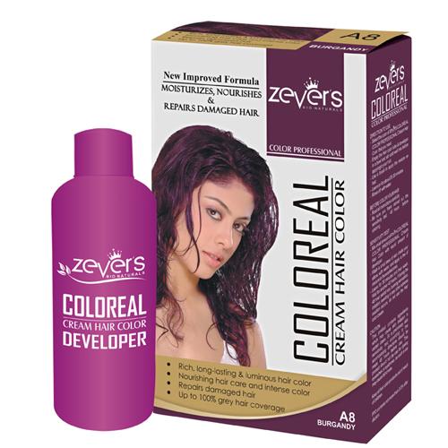 A8 Burgundy Hair Color