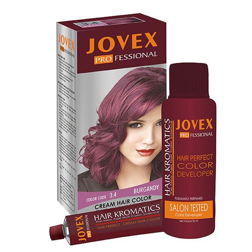 3.4 Burgundy Hair Color