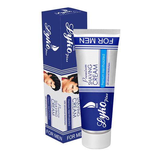 Premium Mentholated Shaving Cream
