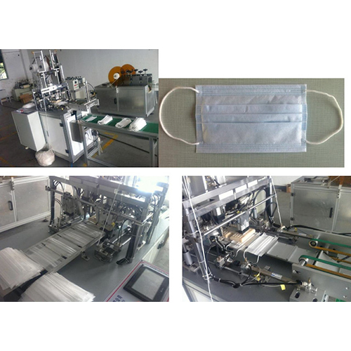 Disposable Non Woven Face Mask Cap Making Machine