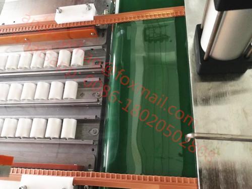 Magnetic strip window curtain making machine