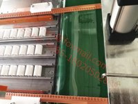 Magnetic strip window curtain making machine