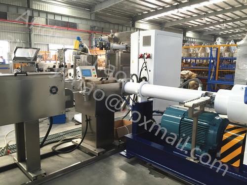 Silicone Rubber Pipe Extruder Machine