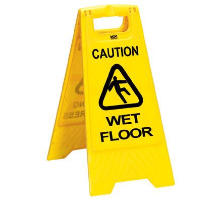 Caution Signage Wet Floor