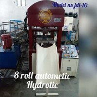 8 Roll Triple Cylinder Hydraulic Paper Plate Making Machine