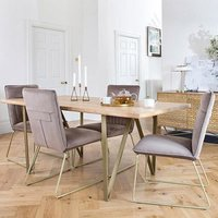 Centrino Six Seater Dining Table