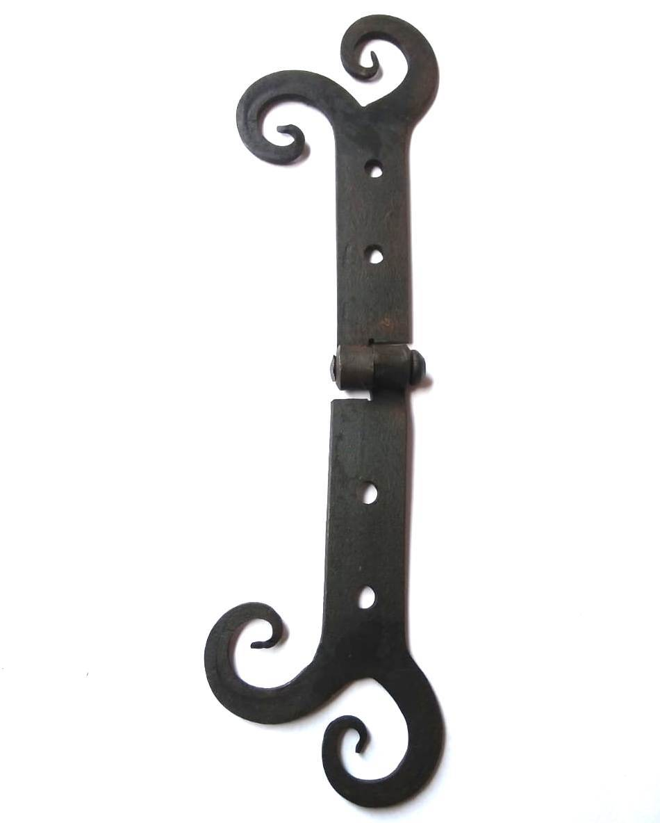 Hand Forged Iron Hinge