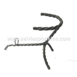 Hand forged Iron Horn Stand