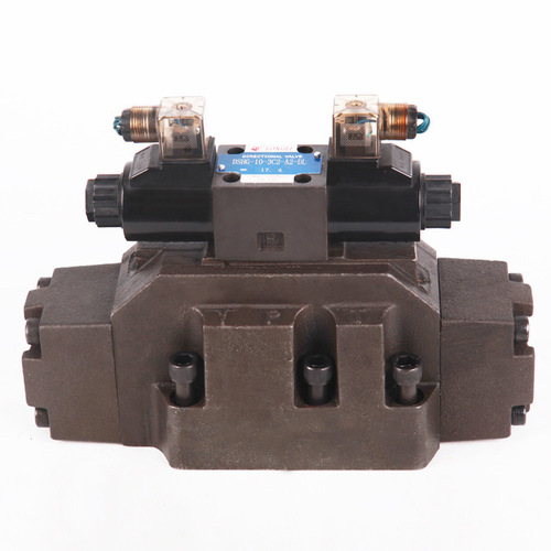 Hydraulic Solenoid Controlled Pilot Operated Directional Valve