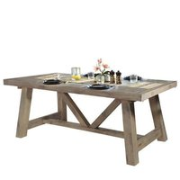 Kiyoski Foldable Wooden Dining Table