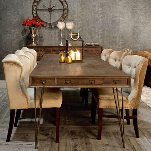 Stryker Six Seater Dining Table