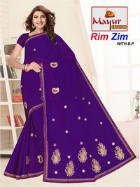 Embroidery Saree Manufacturer