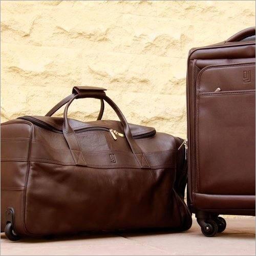 Couro do PVC do saco da bagagem
