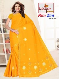 Women Wear Cotton Saree