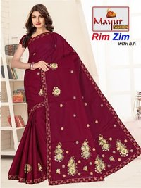 Embroidery Saree manyfacturer