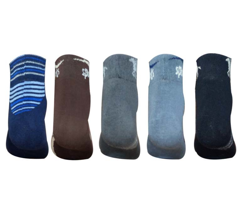 ALL PURPOSE  COLORFUL DESIGNER ANKLE SOCKS