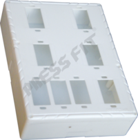 6 X 8 - 8 Way Nano Gang Box