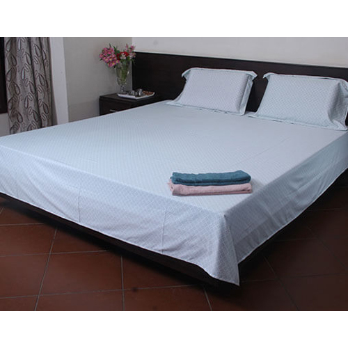 White Plain Bed Sheet