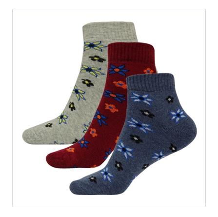 Printed Ankle Socks