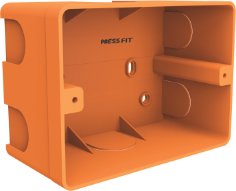 Press Fit One Concealed Modular Box - 1.5 Module