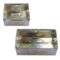 One Concealed Metal Box