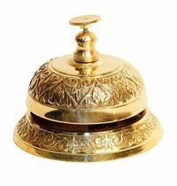 Brass Antique Vintage Hotel Call Bell