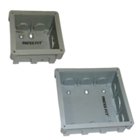 Press Teak - 4 x 4 Concealed Board