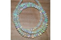 AAA Ethiopian Welo Opal Faceted Rondelle Beads 3-5mm 16 inches Strand