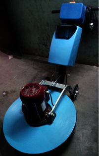 Single Disc Floor Scrubber Machine