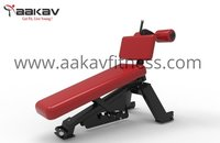 Adjustable Abdominal Bench Super Sport Aakav Fitness