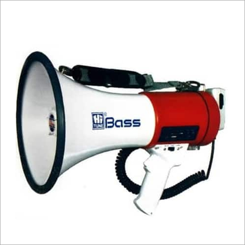 HM-21SU MEGAPHONE WITH USB AND SIREN AND RECHARGEABLE BATTERY