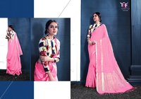 New Latest Linen Silk Sarees