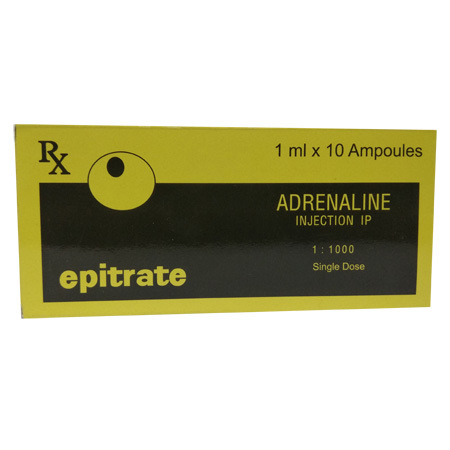 Epitrate Adrenaline Injection